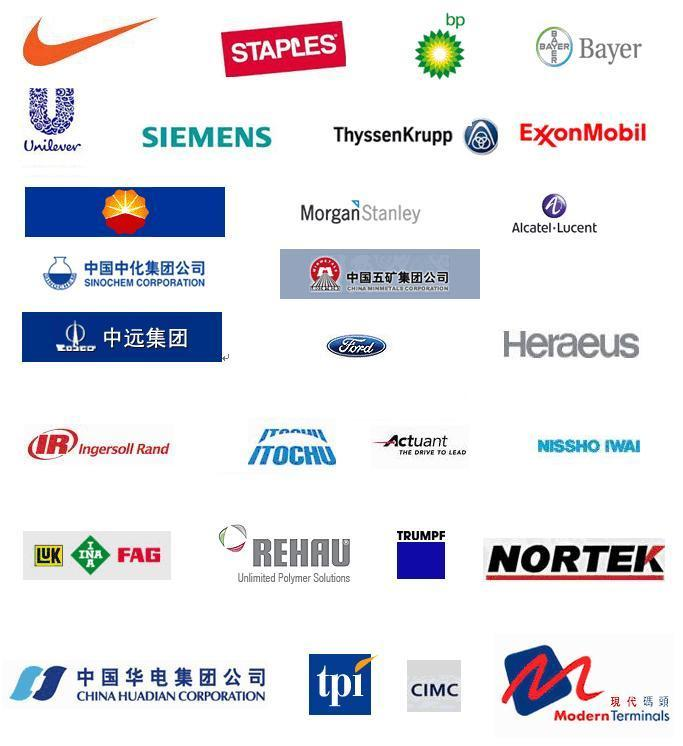 外商投资之在太知名企业
