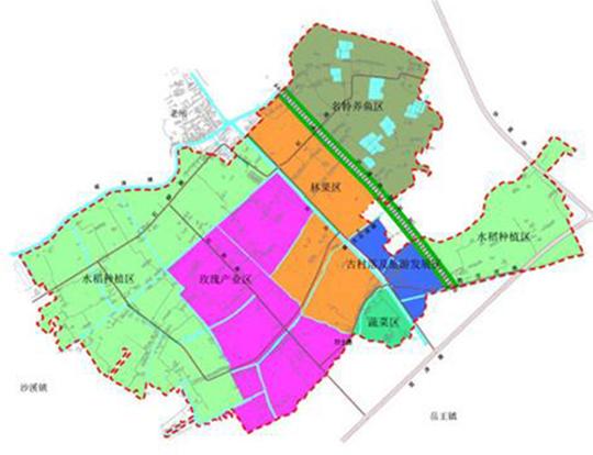 浮桥镇区域规划