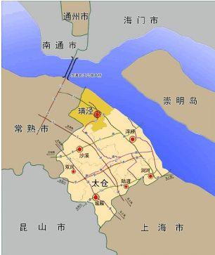 璜泾镇地理位置